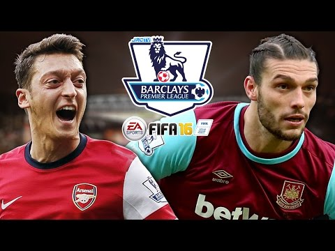 Arsenal vs. West Ham United | jmc Premier League 2015-16 | FIFA 16