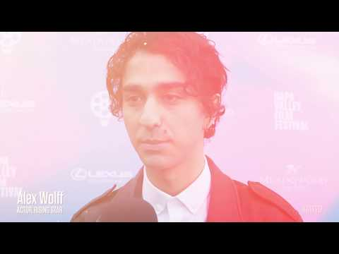Alex Wolff on the Red Carpet  Rising Star  NVFF17