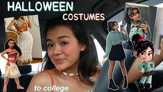 i wore HALLOWEEN COSTUMES 🕷to COLLEGE for a week