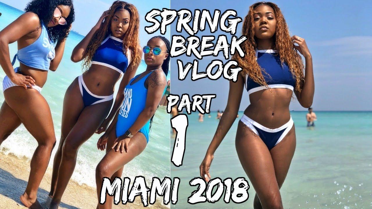 College Spring Break Vlog Miami Beach