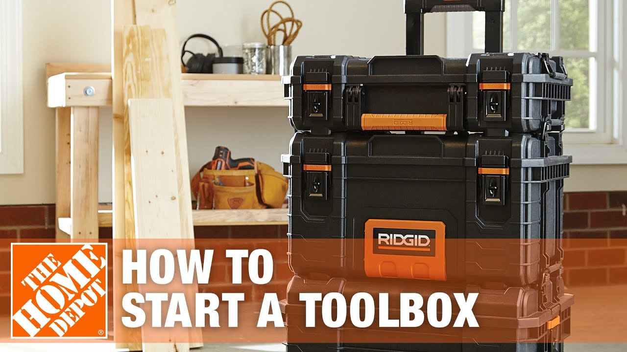 How To Start A Toolbox The Home Depot Youtube