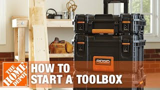 How To Start A Toolbox - The Home Depot