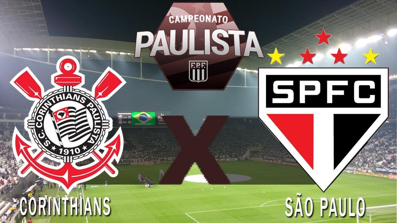 Resultado de imagem para Corinthians x São Paulo - Paulistão