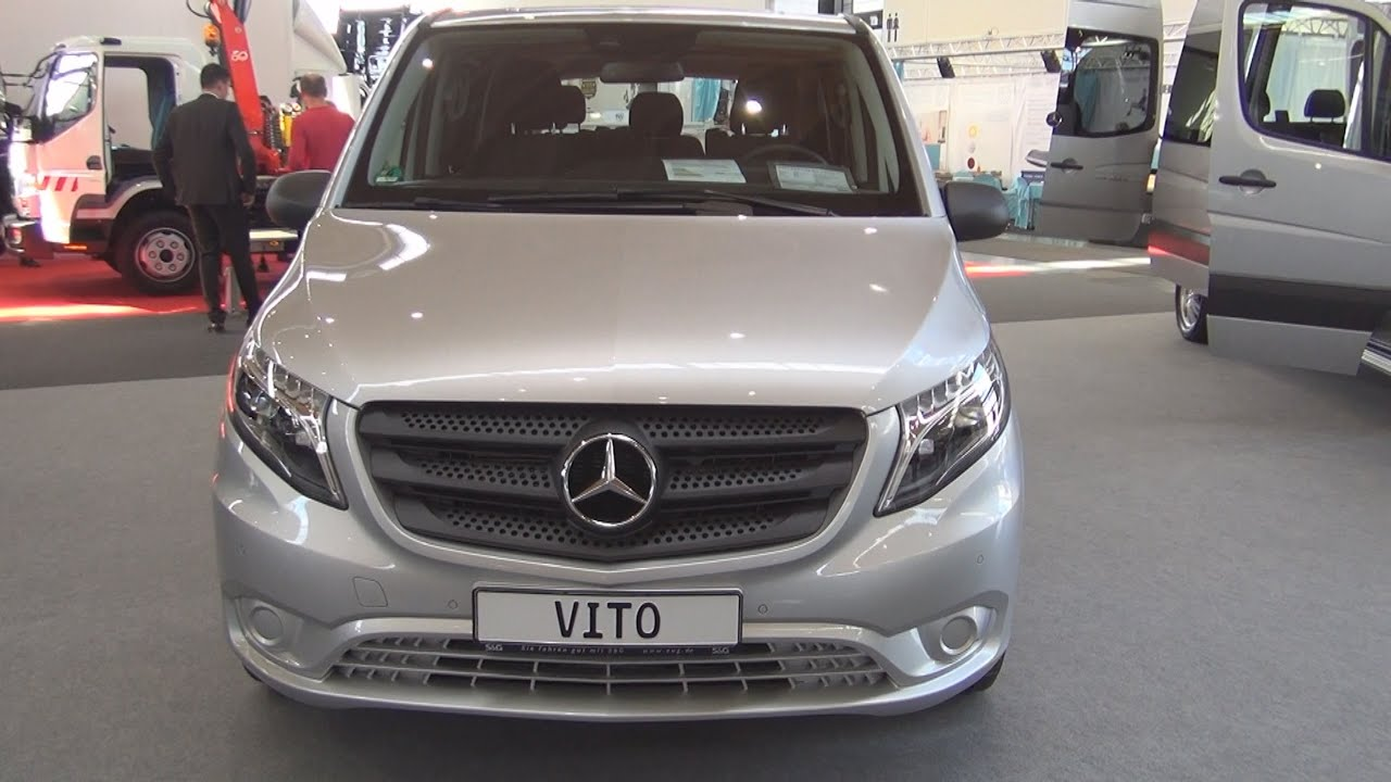 Mercedes benz vito 119 cdi be vts l 2016 exterior and for Mercedes vito interieur