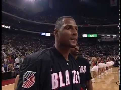 Chicago Bulls Introduction 1992 NBA Finals Game 1 vs Portland Trail Blazers