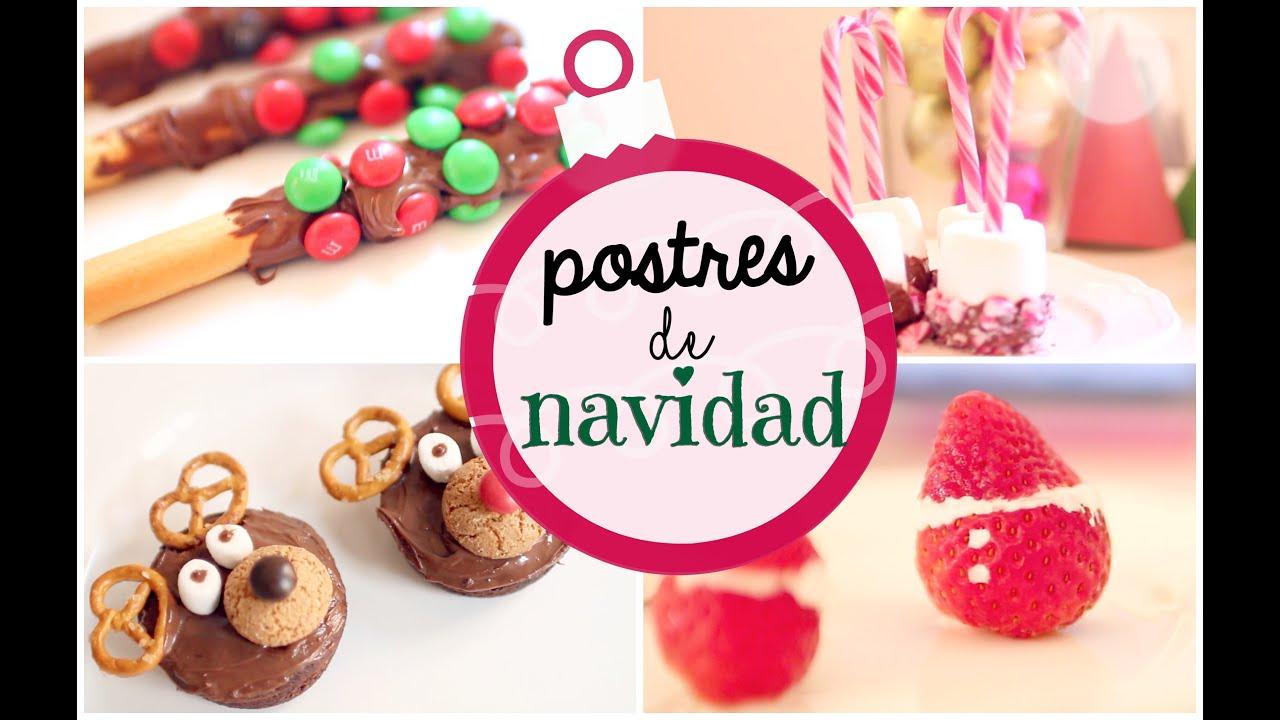 Postres deliciosos f ciles y r pidos para navidad - Postres ligeros y rapidos ...