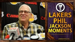 Phil Jackson's Top 5 Lakers Moments