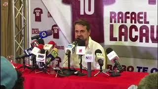 Lacava instó apoyo de los medios de comunicación para zona económica especial