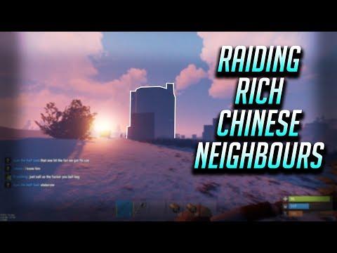 Raiding Rich Chinese Neighbours | Rust