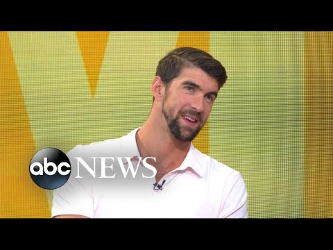 Michael Phelps on his race against a great white shark