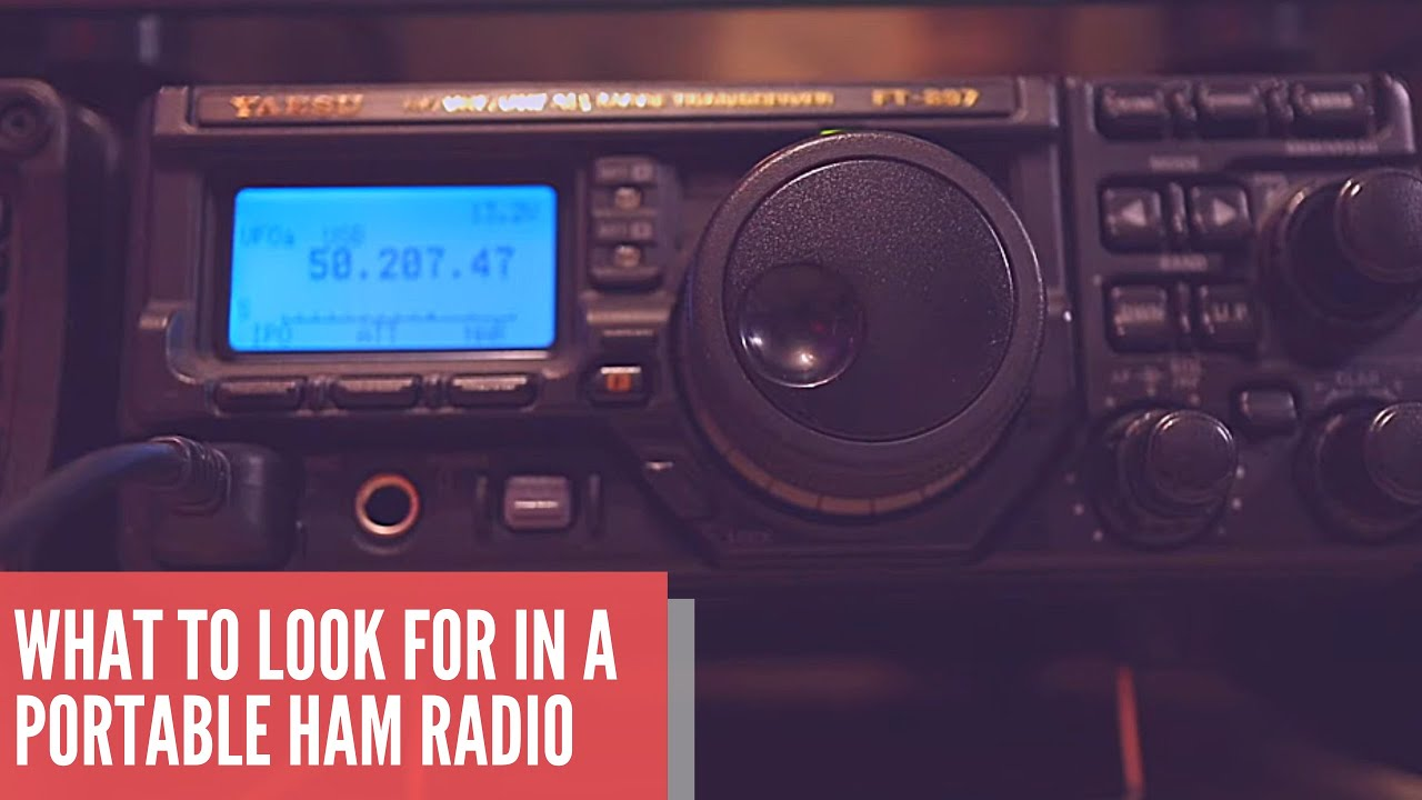 Choosing the right portable ham radio | My experience in portable ham radio