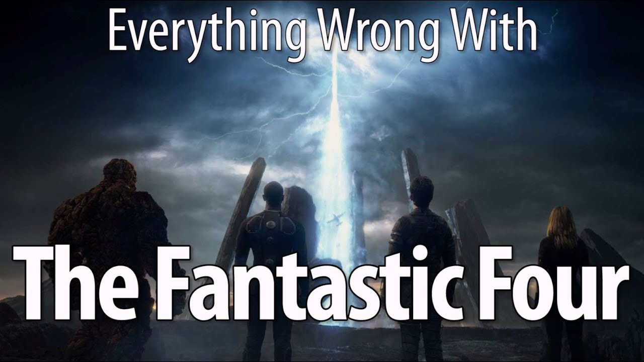 Download Everything Wrong With The Fantastic Four (2015) In 17 Minutes Or Less