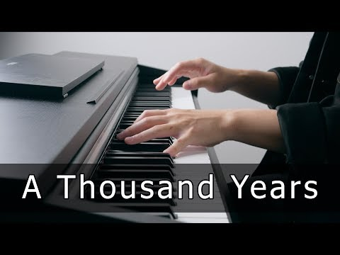 Christina Perri - A Thousand Years (Piano Cover by Riyandi Kusuma)