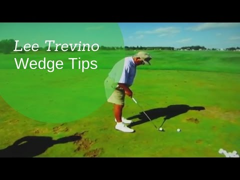 Lee Trevino GREATEST Wedge Play Tips