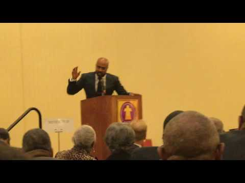 The Rev Dr. Frederick D Haynes III...Turn Your Anger Into Action!