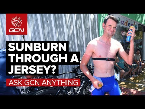 Can You Get Sunburnt Through Your Jersey? | Ask GCN Anything
