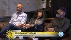 """Solsidan är tillbaka: """"Vi har svårt att hålla oss för skratt under tagningar"""" - Nyhetsmorgon (TV4)"""