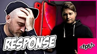 The iPhone XR Is NOT Depressing... (Response to Unbox Therapy)