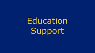 Virtual Open Evening   Education Support