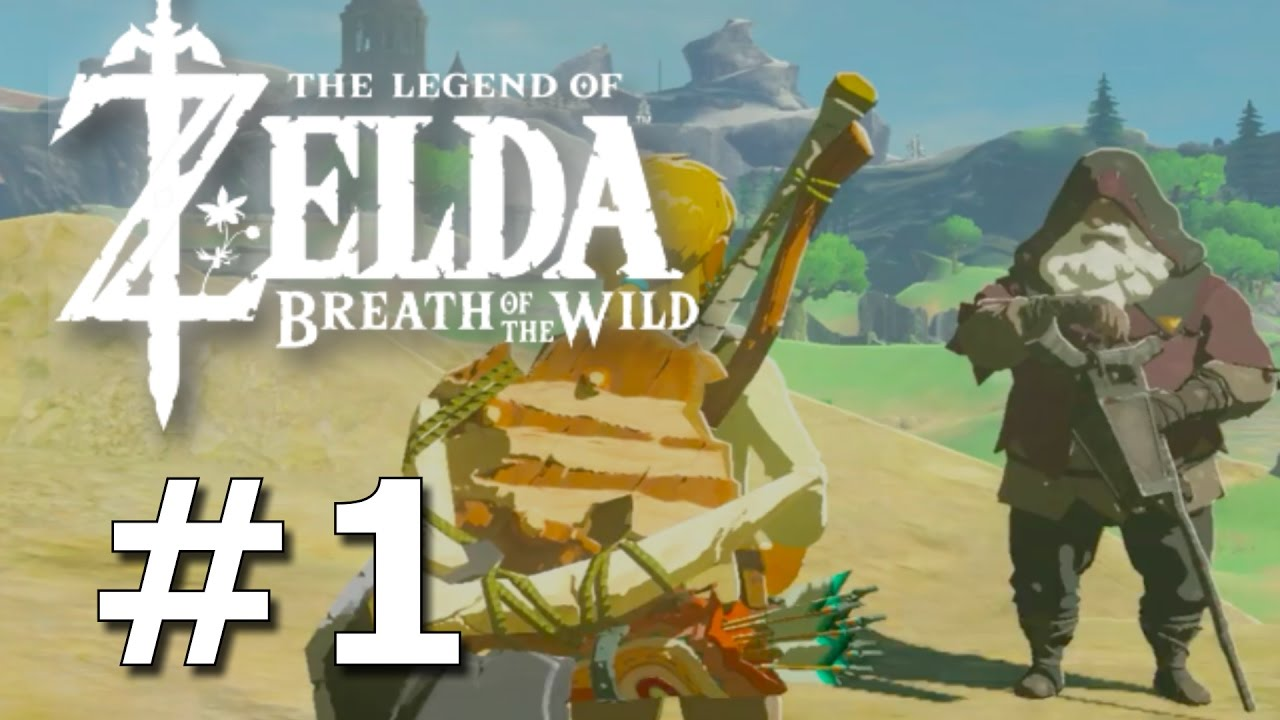 The Legend of Zeld: Breath of the Wild - Vergessenes Plateau Guide (Prolog) | totallygamergirl
