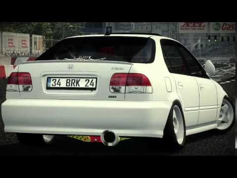 Lfs Honda Civic Sedan Vtec Trailer Youtube