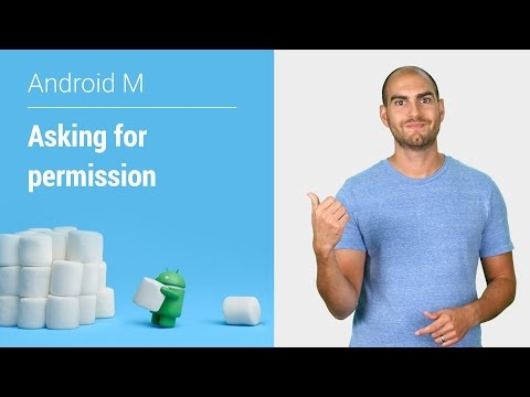 Android Marshmallow 6.0: Asking For Permission