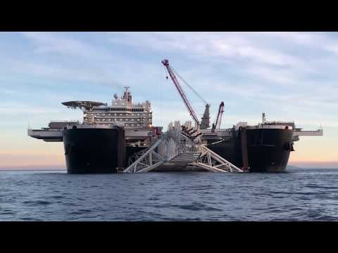 World's largest ship Pioneering Spirit