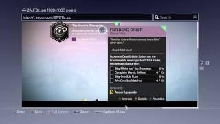 Destiny - Dead Orbit Secret Quest (The Arach Champion) Completed
