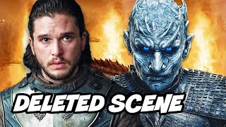 Game Of Thrones Season 8 Episode Deleted Scenes - Jon Snow Easter Eggs Breakdown