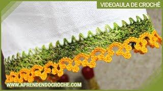 Bico de Crochê Coroa – Aprendendo Crochê