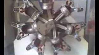 Motor Radial - 7 Cilindros 4 Tempo