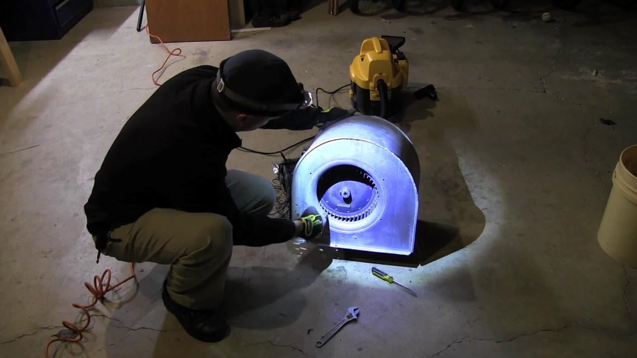 Replacing a Trane Furnace Blower Motor 101.