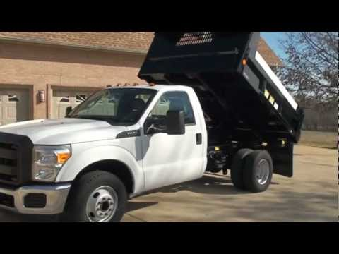 Plow Trucks For Sale >> 2011 FORD F350 XL DUMP TRUCK FOR SALE SEE WWW SUNSETMILAN COM - YouTube