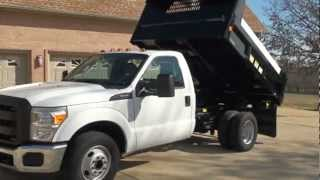 2011 FORD F350 XL DUMP TRUCK FOR SALE SEE WWW SUNSETMILAN COM