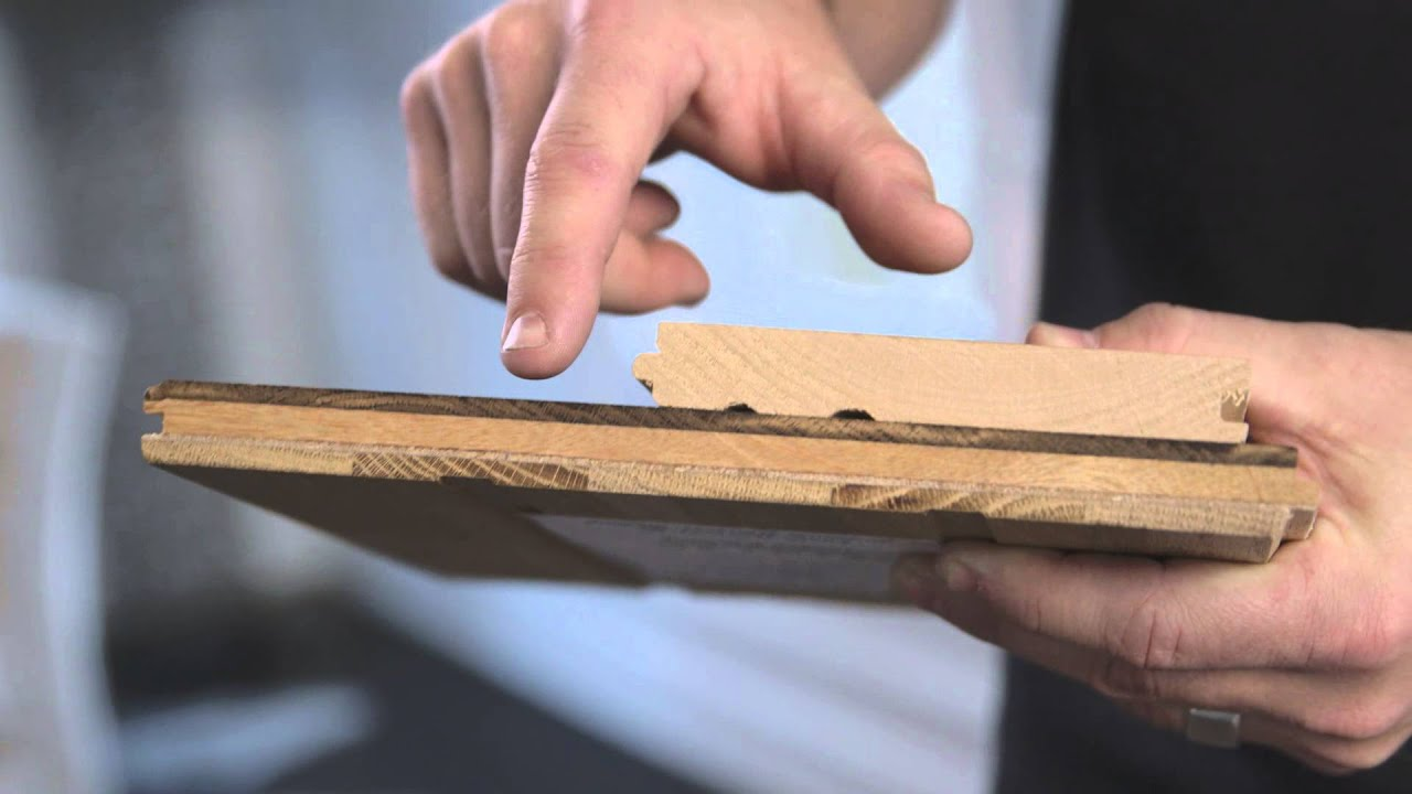 The Difference Between Solid   Engineered Hardwood Flooring   YouTube