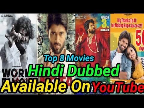 Top 5 Vijay Devarakonda Big Blockbuster South Hindi Dubbed Movies Available On YouTube Episode 2 . from YouTube · Duration:  6 minutes 53 seconds