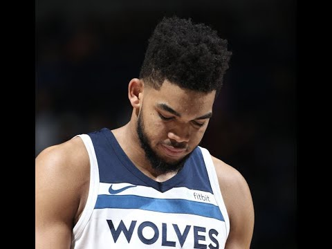 """Karl-Anthony Towns Gets Distracted by """"JIMMY BUTLER!"""" Chants vs Mavericks"""