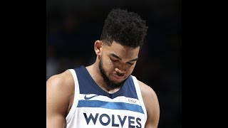Karl-Anthony Towns Gets Distracted by