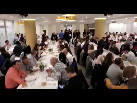 Los hosteleros sarrianos se van de cena