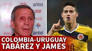 COLOMBIA vs URUGUAY | TABAREZ, sobre JAMES RODRÍGUEZ | DIARIO AS