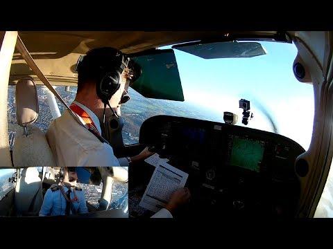 Solo VFR Navigational flight around Antwerp (EBAW) with radio
