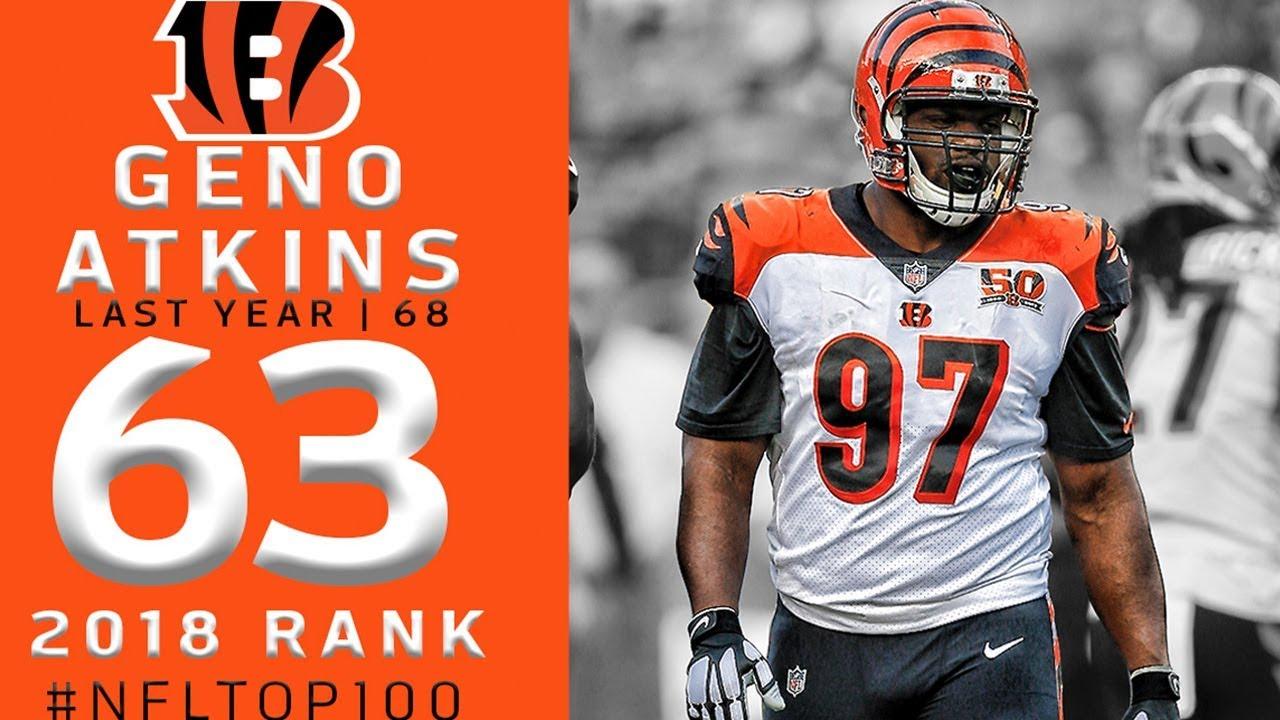 #63: Geno Atkins (DT, Bengals) | Top 100 Players of 2018 | NFL