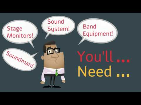 Sound System Rental: Band Performances for Events in Singapore | Electric Dreamz