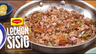 How to Cook Magical Lechon Sisig with MAGGI