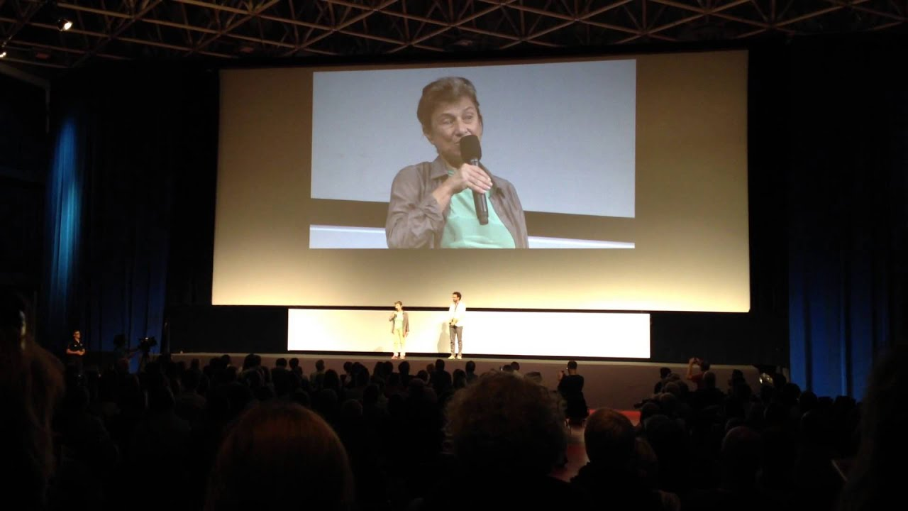 Chantal Akerman introduces her film No Home Movie at Locarno