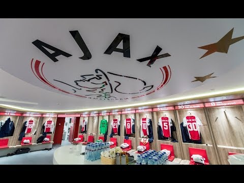 Dressing rooms 2018 // netherlands eredivisie league (psv, ajax)
