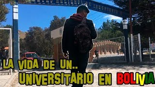¿Cómo es la VIDA de un UNIVERSITARIO en Oruro, Bolivia?