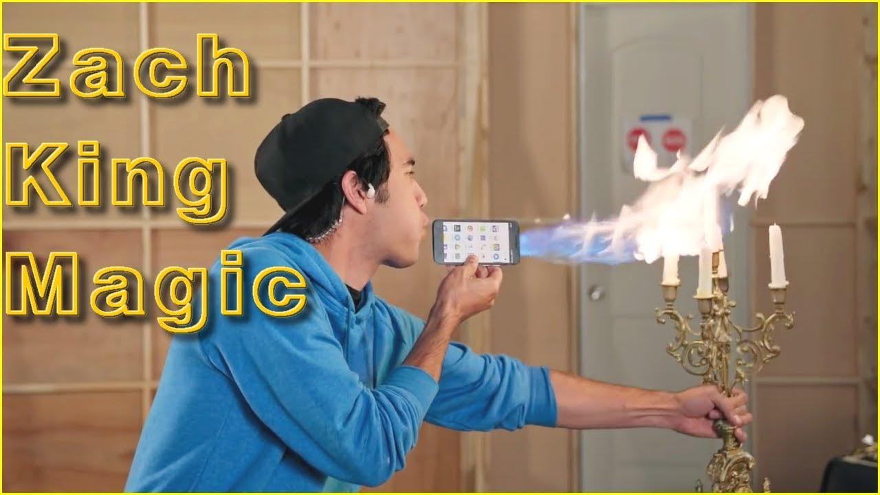 New Zach King Magic Tricks 2018 - Best Zach King Tricks Collection