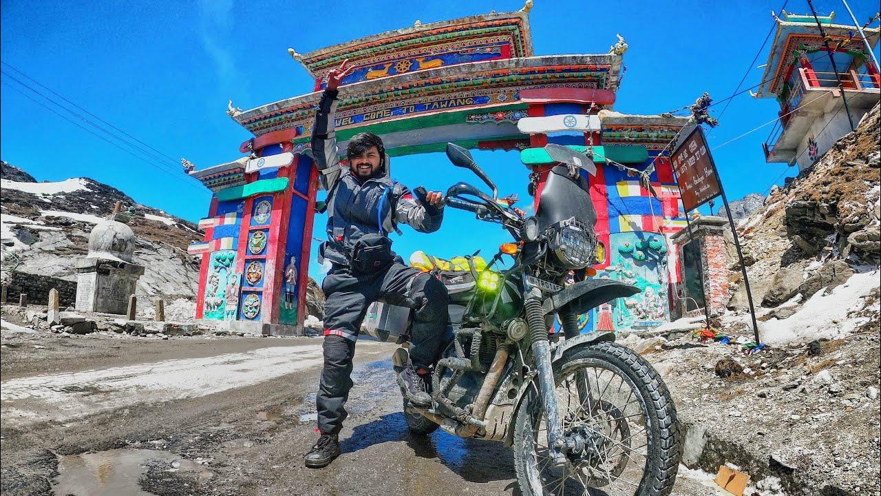 Tawang 2021 : My solo ride from Dirang to Tawang | Sela Pass | Tour of Arunachal Pradesh EP. 07
