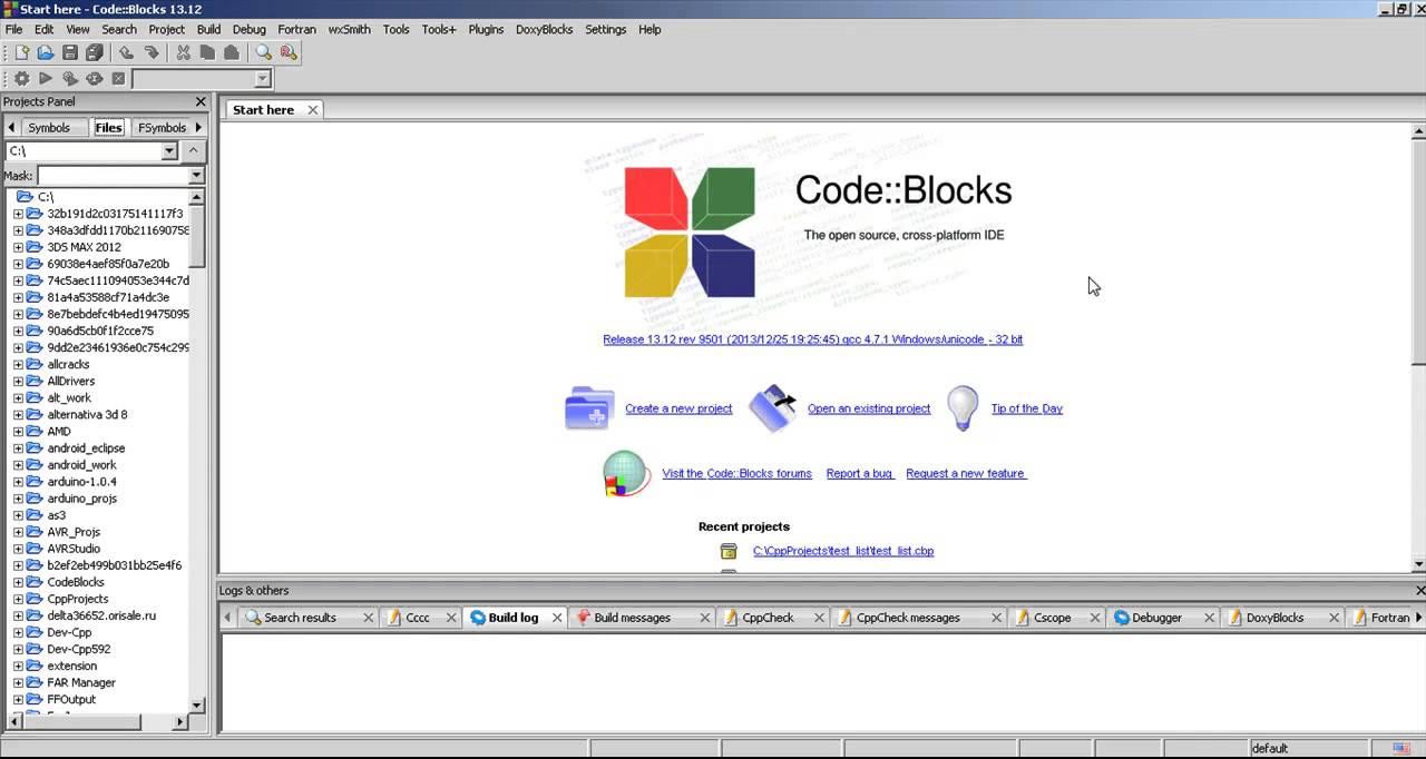 Codeblocks ide 10.5 скачать